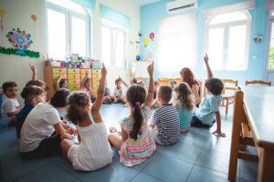 Δραστηριότητα στην τάξη, Προνήπιο - Νήπιο