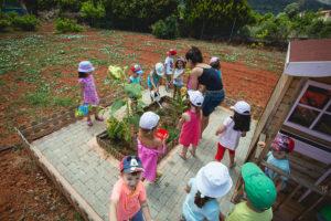 Δραστηριότητες στα αγροτόσπιτα, Προ-προνηπιακό Τμήμα