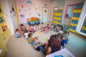 Τραγούδι στην τάξη, Βρεφικό Τμήμα